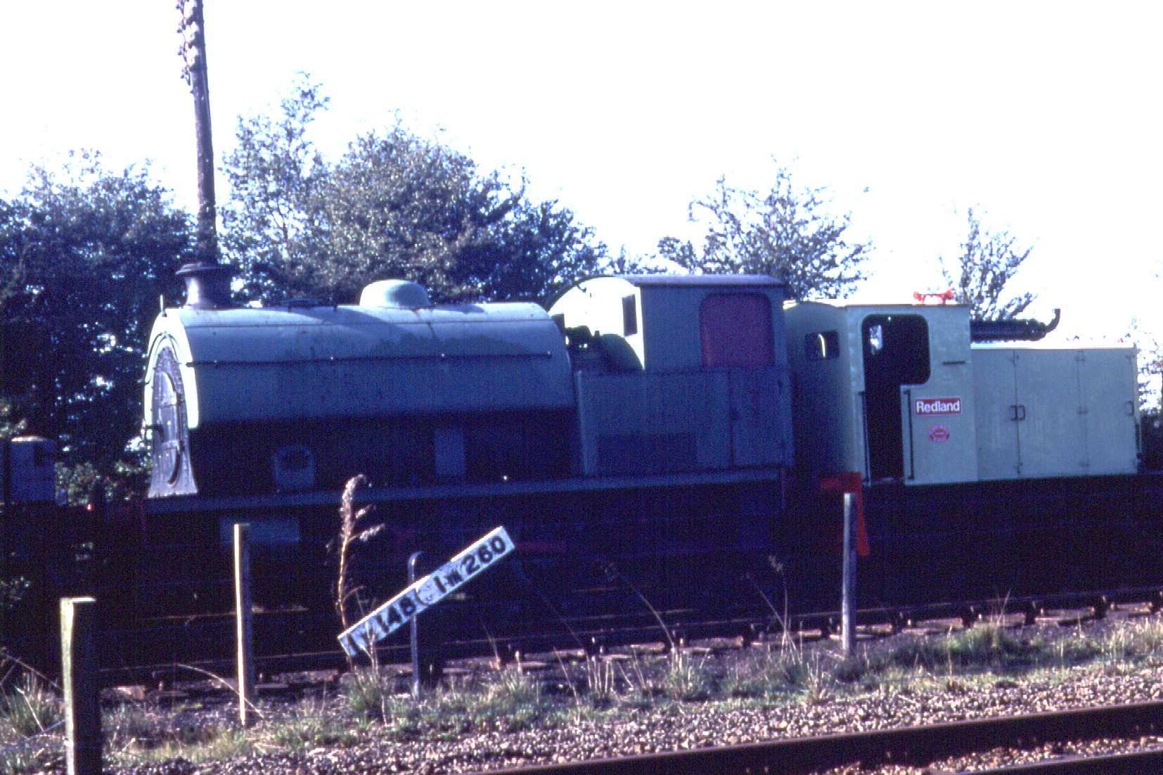 No. 3717 in store in the Down Yard behind the Kerr Stuart Diesel Redland