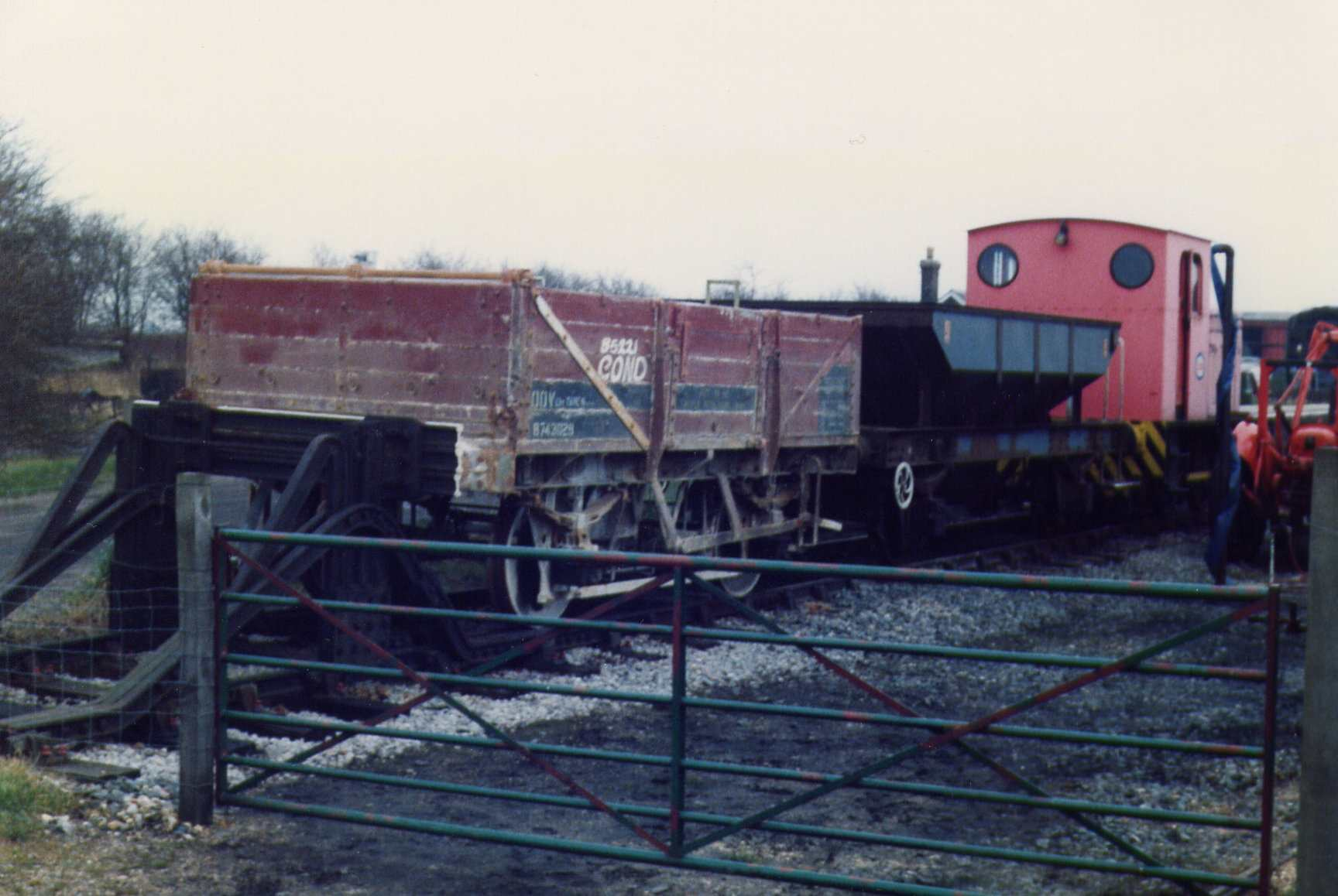 China Clay Wagon in Up Yard shortly after delivery