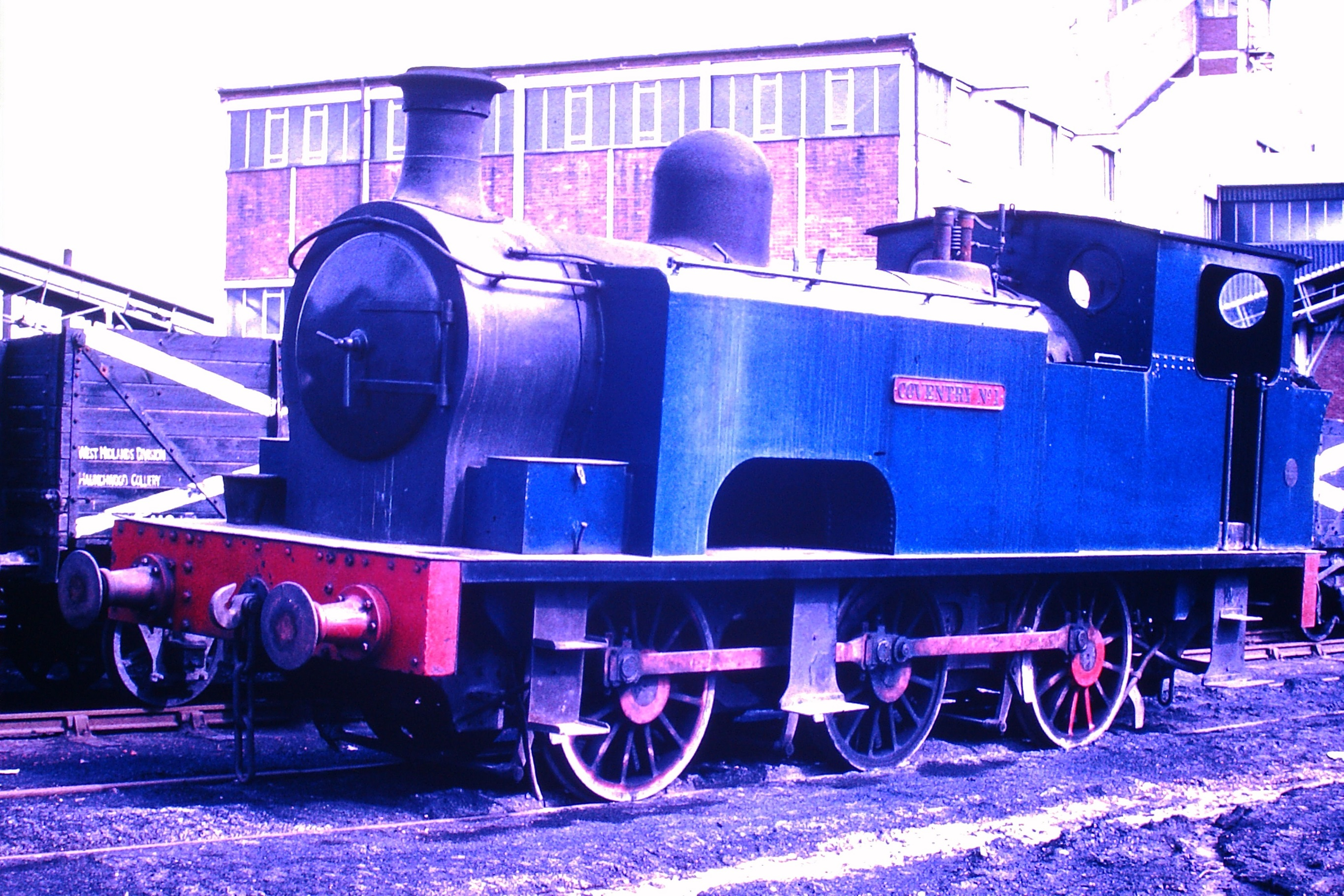 Coventry No. 1 seen at work at Haunchwood Colliery - date uncertain