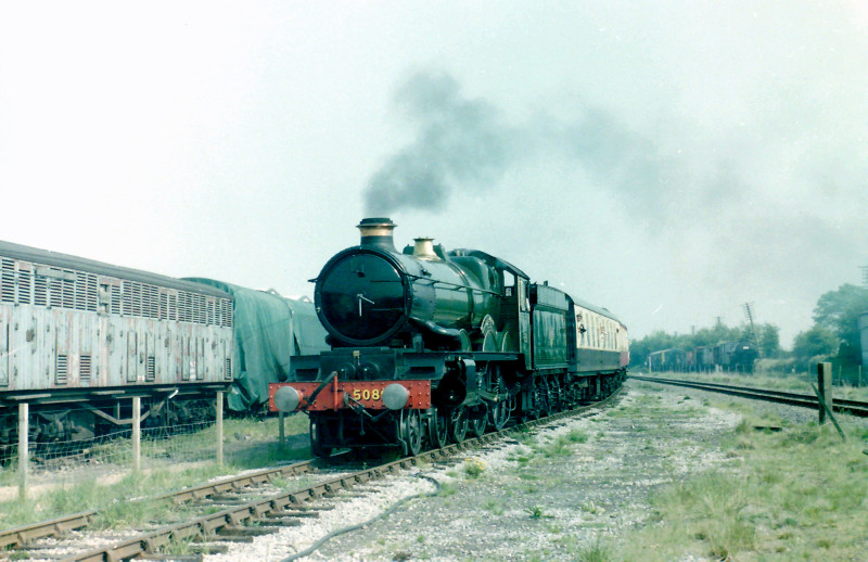 Defiant operating an Up Yard train during a 1990 visit