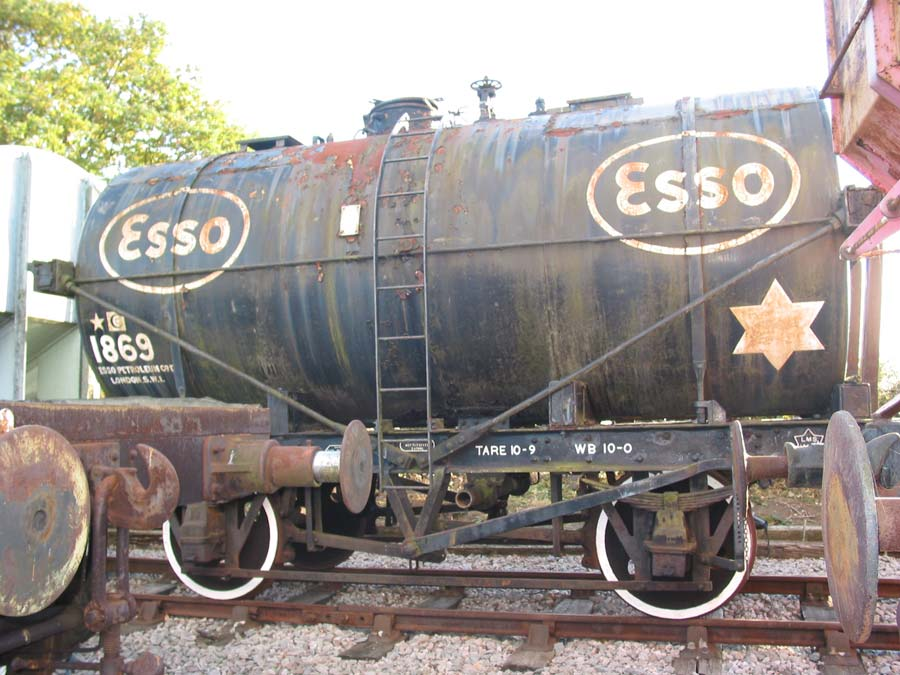 Esso tank in Down Yard