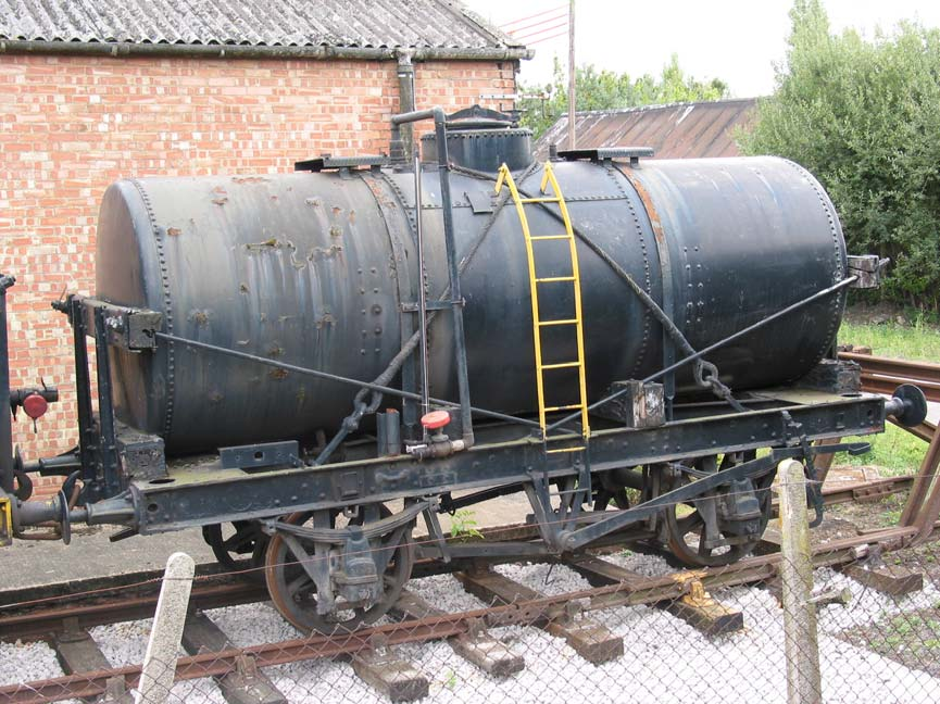 Ex Fords Oil Tank alongside Buffer Depot in Down Yard