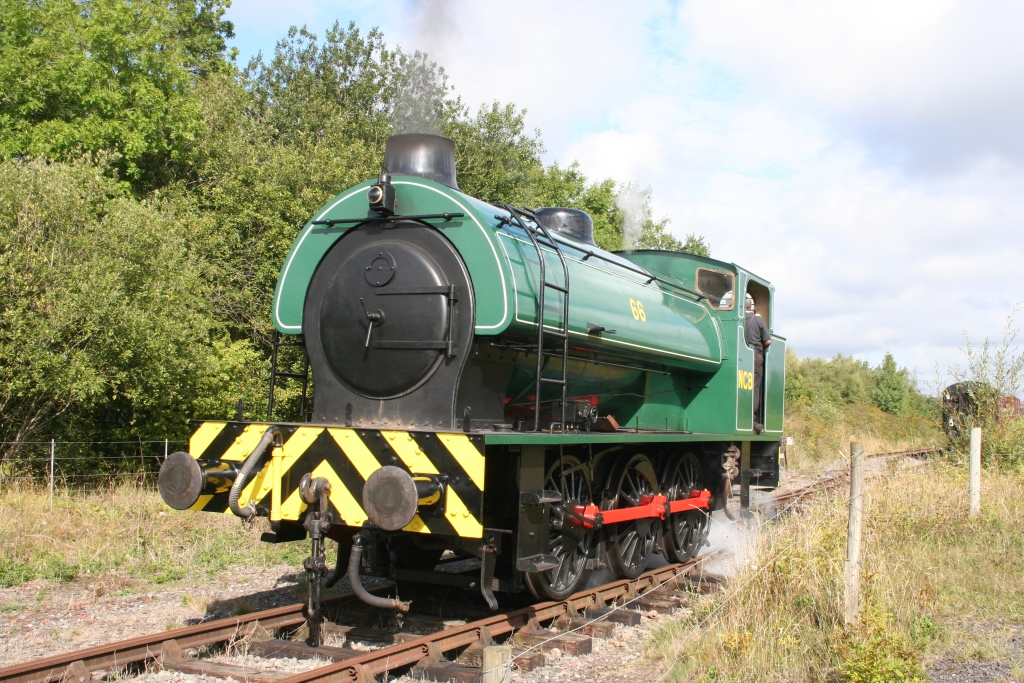 NCB66 at the Chasewater Railway, 6th September 2015