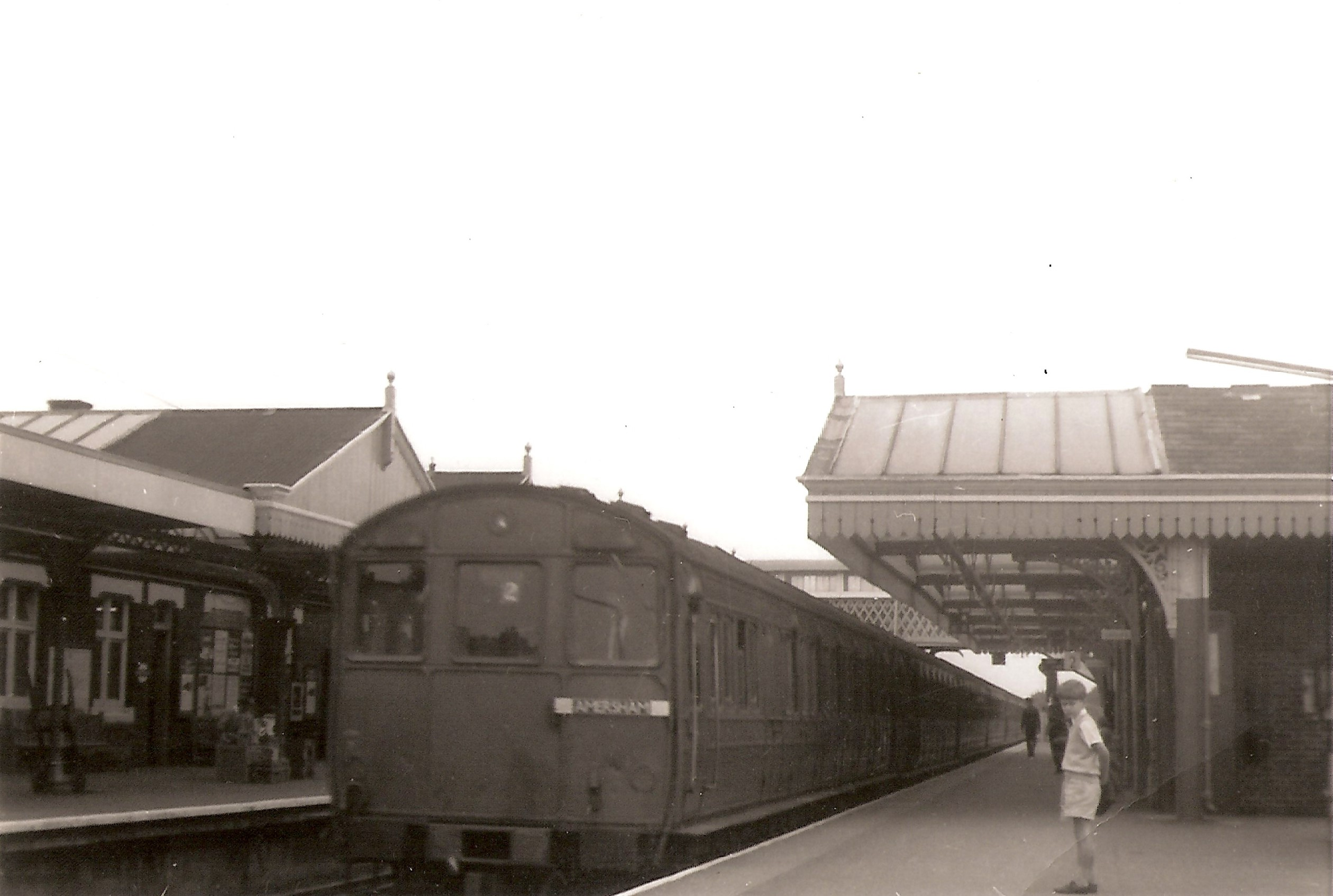 T Stock at Amersham and Chalfont & Latimer on 10th September 1961